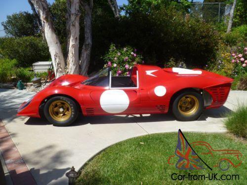 1967 Replica/Kit Makes Replica Ferrari 330 P4 NA