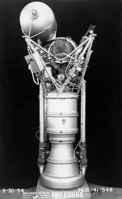 Redstone Rocket Engines (A-6 and A-7)