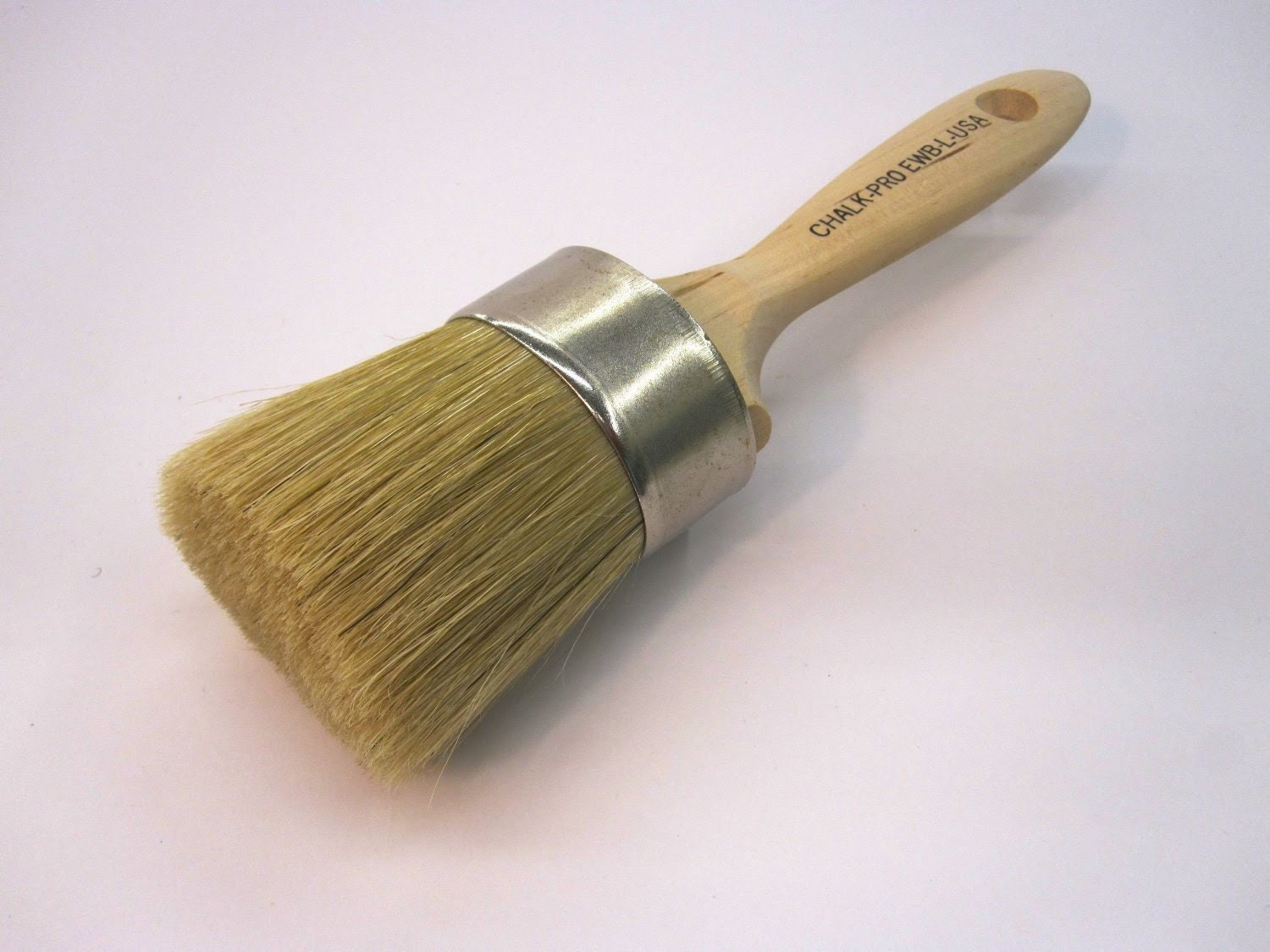 Chalk Paint & Wax Brush- HIGH QUALITY!- Small Medium or Large- Round Furniture Use w/ Annie Sloan Cece Caldwell Powders Etc - PaintitChic