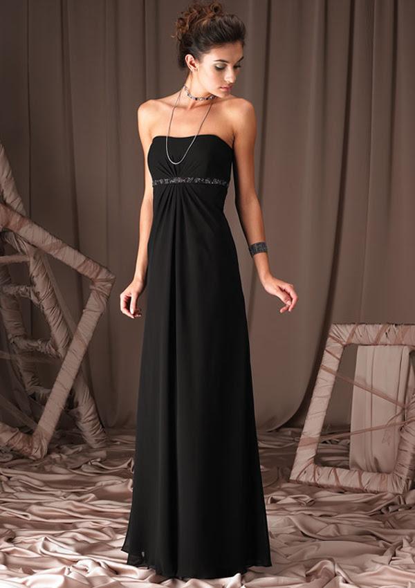 Wear black to evening wedding