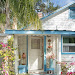 Shabby Chic Beach House Exterior