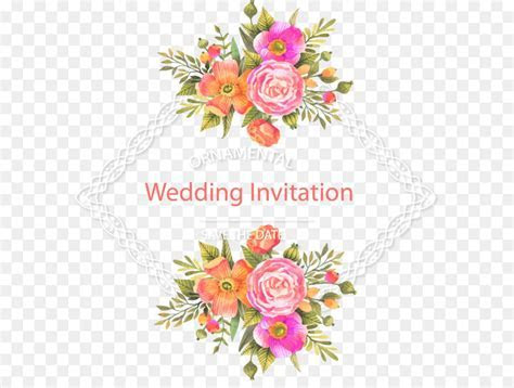 Wedding invitation Flower Download   Fresh and beautiful
