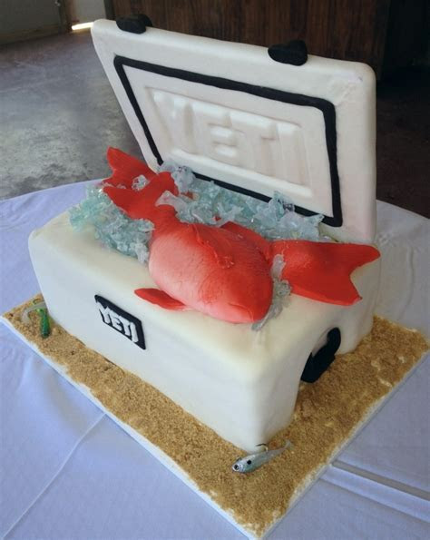 Yeti cooler cake. Couture Cakes of Daphne AL   My Cakes