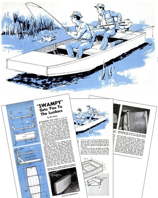 Holy boat: Here Popular mechanics model boat plans