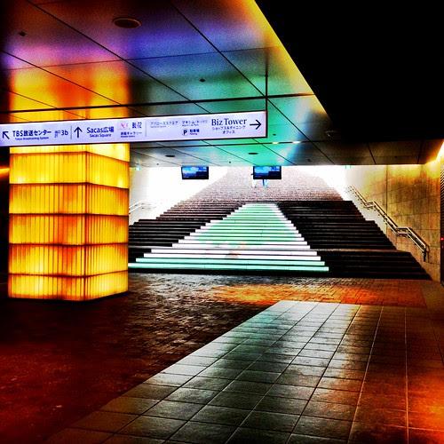赤坂駅 by cinz