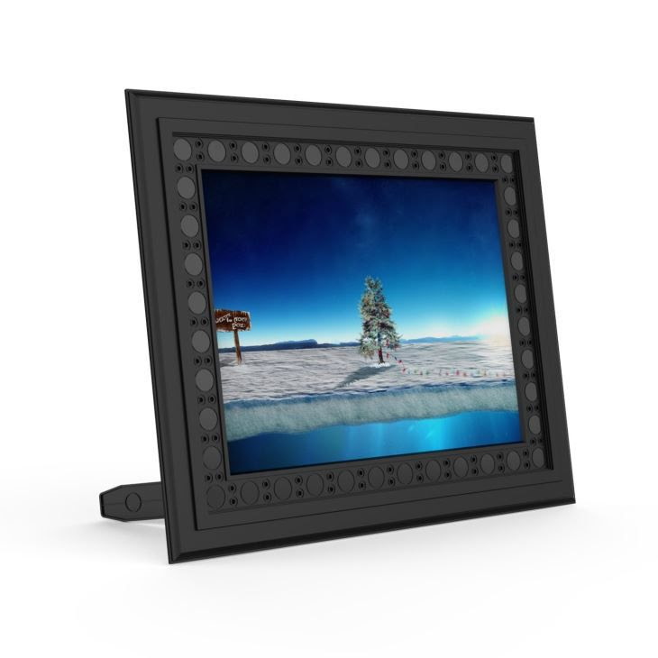 Hd 720p Photo Frame Hidden Home Security Camera Night Vision Motion