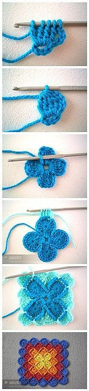 Bavarian crochet tutorial !! full instructions at: http://sarahlondon.wordpress.com/2009/08/25/wool-eater-instructions/