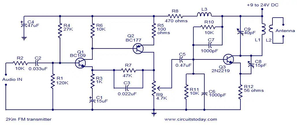 2km Fm transmitter