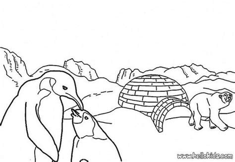 ice floe coloring pages hellokidscom