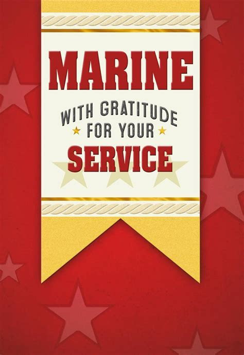 United States Marine Veterans Day Card   Greeting Cards