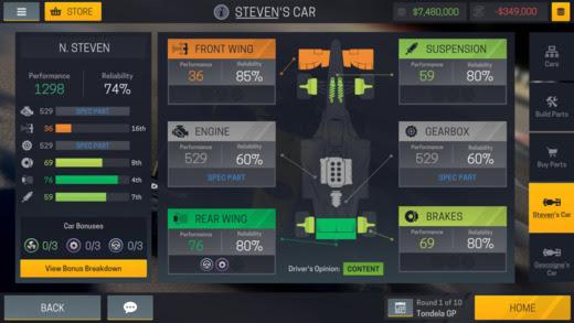 Motorsport Manager Mobile 2 screenshot