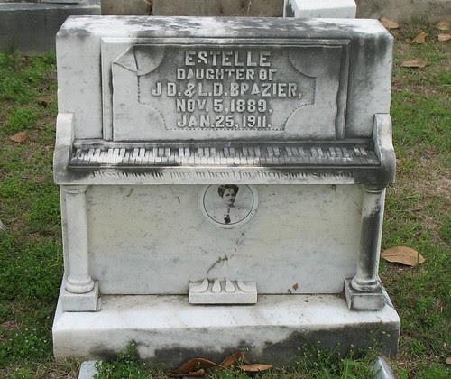 Piano Tombstone