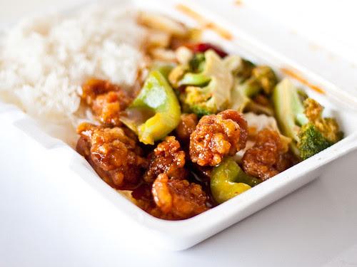 Chili chicken (Kim's Oriental)