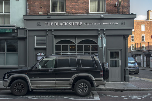 The Blacksheep Pub On Capel Street (What Is A Crafty Beer) by infomatique