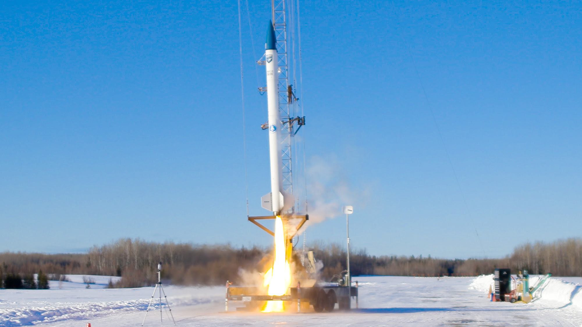 Startup bluShift Aerospace launches its 1st commercial biofuel rocket from Maine #rwanda #RwOT