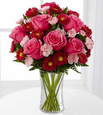The Precious Heart™ Bouquet by FTD® - VASE INCLUDED- Deluxe