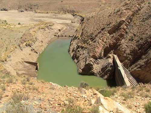 Escacez de agua en Villazón