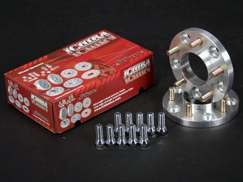 Ichiba WS-5511464D Version II Wheel Spacer 4x114.3 30mm