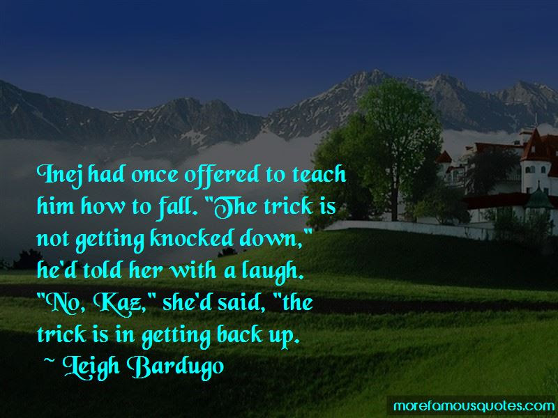 Knocked Down And Getting Back Up Quotes Top 12 Quotes About Knocked