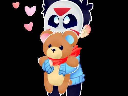 H20 Delirious Fan Art Teddy Bear