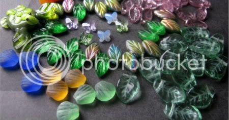 Shaped Glass Bead Assortment