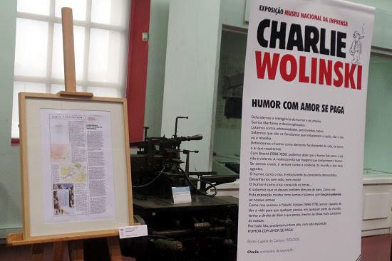 Exposición en el Museu Nacional da Imprensa, de Oporto, en homenaje a los caricaturistas de Charlie Hebdo