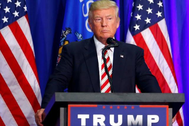 Donald Trump... (PHOTO ERIC THAYER, ARCHIVES REUTERS)