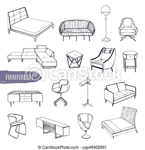 Ideas For Furniture Different Types Of Chairs images