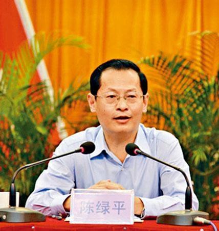 ■陳綠平貶任遼寧省副省長。