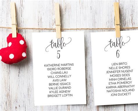 Wedding Seating Chart Ideas, Seating Chart Cards, Seating