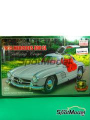 Minicraft: Maqueta de coche escala 1/16 - Mercedes 300 SL 1955 - maqueta de plástico