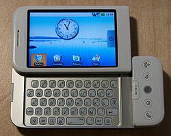 Htc dream ponsel pertama android