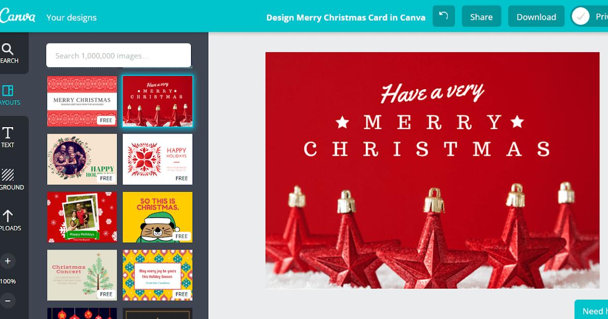 Contoh Baliho Natal Keren Terbaru - desain banner kekinian