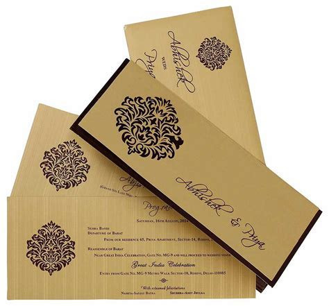 Invitation cards printing online : wedding invitation card