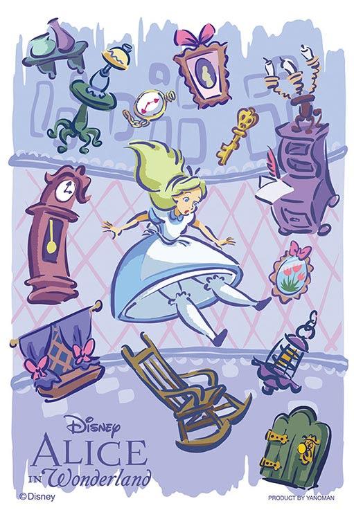 Yam 97 128 ディズニー アリスは不思議の国へ不思議の国のアリス 70