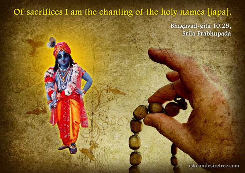 Lord Krishna Spiritual Quotes By Iskcon Desire Tree