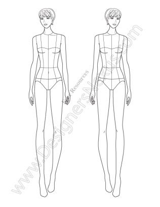 Human Figure Drawing Template at GetDrawings.com | Free