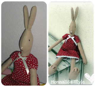 Maileg rabbit ..I ♥ !