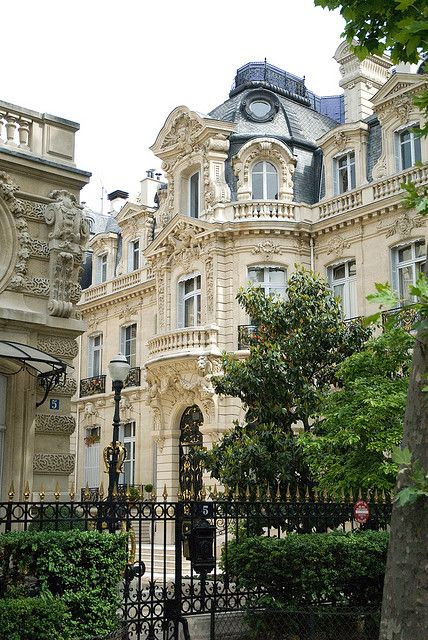 Paris Town House in the Baroque style