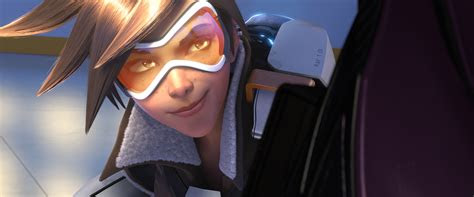 wallpaper tracer goggles overwatch games