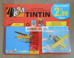 N° 1 En avions Tintin - Lancement national