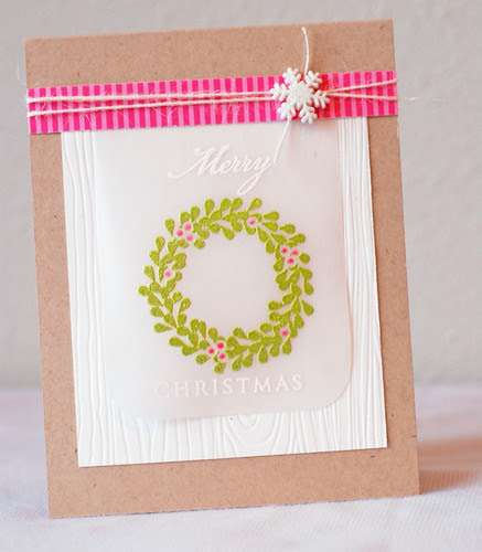 Wreath_pinkgreen_Merry Christmas_2013_03