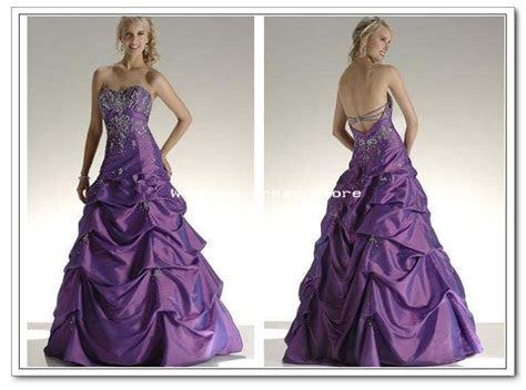 Purple And White Wedding Dresses   wedding dress Purple