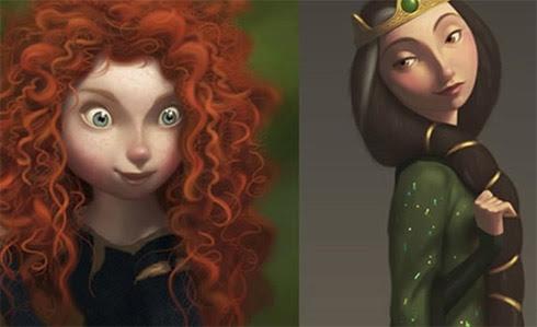Brave: Disney/Pixar revela personagens da animação