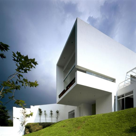 Mexican architecture enveloped in a Zen aura | Minimalisti.