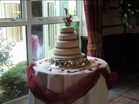 DIY Wedding cake table decorating ideas   YouTube