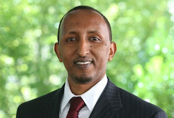 Mohamed Omar, a 2011Work Environment graduate, conducted research on the safety of green building features.