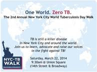 One World. Zero TB. graphic