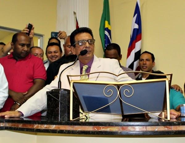 Açailândia > Câmara da posse ao Prefeito Juscelino Oliveira