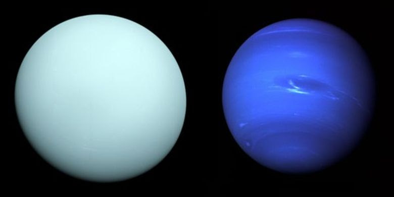 Urano e Netuno também são dois planetas gasosos. Neil ressalta que, além da diferença de pressão e a falta de superfície para pousar, as temperaturas são tão baixas que o ser humano congelaria praticamente de imediato